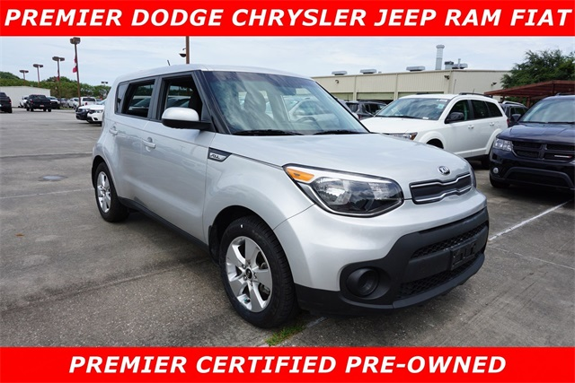 Kia New Orleans >> Pre Owned 2018 Kia Soul Base Fwd 4d Hatchback